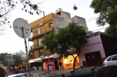 street buildings